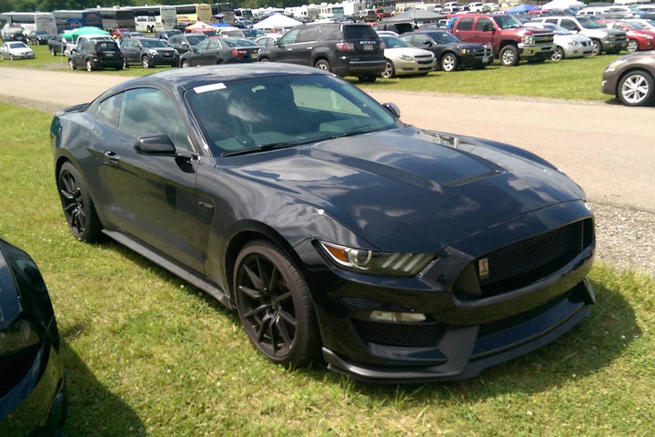 Pre-Production 2016 Shelby GT350 Spotted in Michigan