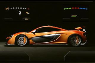 Video: McLaren Offers First Glimpse of Futuristic P1 Dash