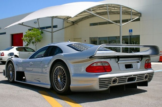 This Rare Mercedes-Benz CLK-GTR is on eBay Right Now
