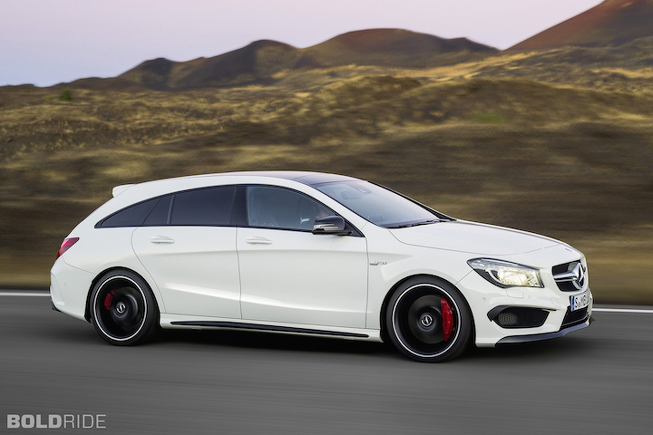 Mercedes CLA Shooting Brake is the Wagon America Needs