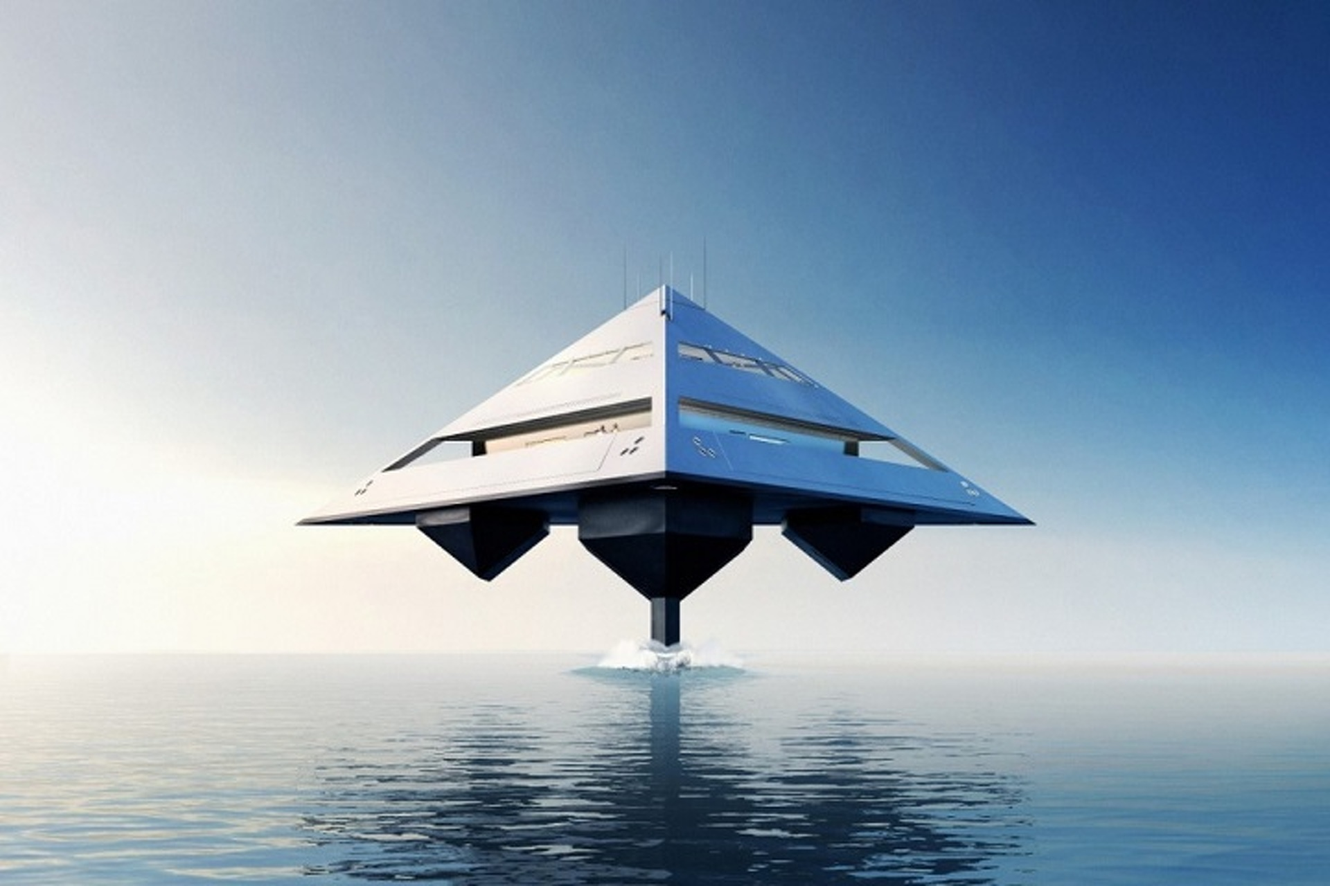 This Radical Superyacht Concept Puts All Other Yachts to Shame
