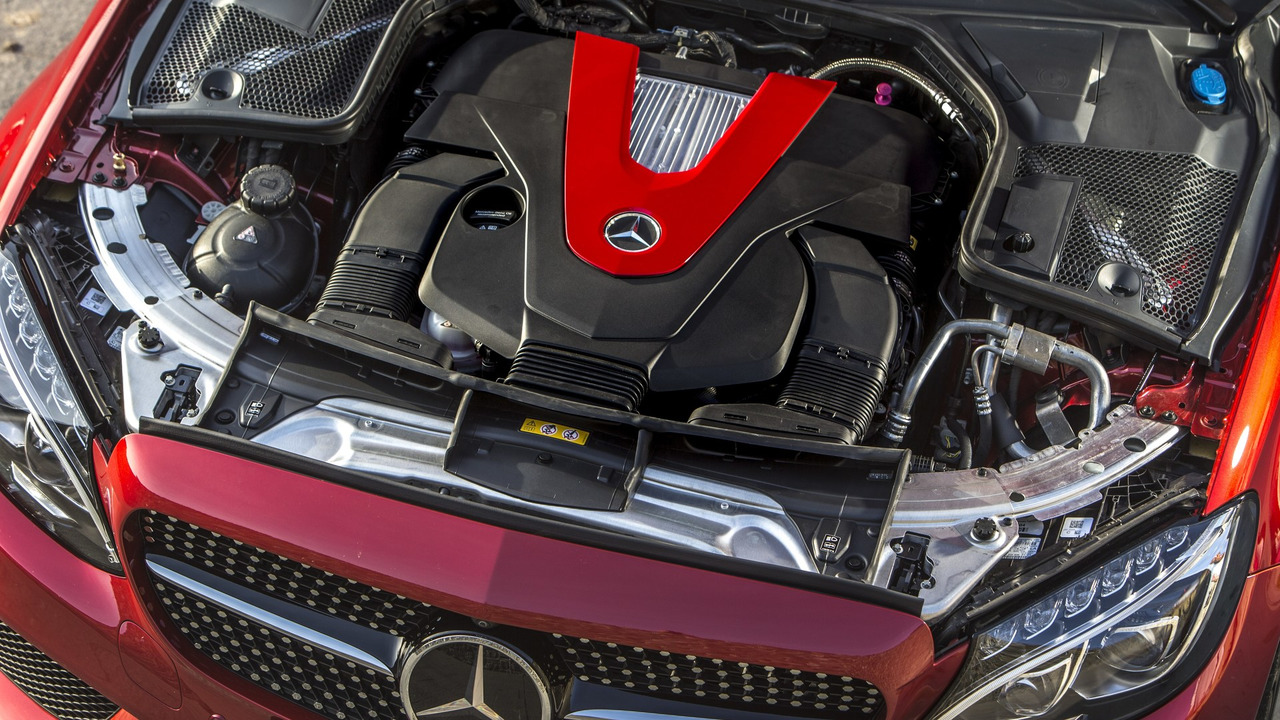 2017 Mercedes-AMG C43 Coupe V6 engine
