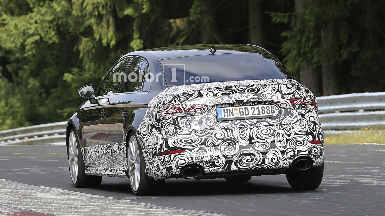 Audi RS3 Sedan spy photo