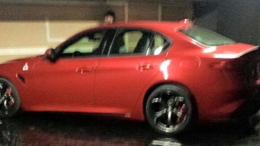 Alfa Romeo Giulia leaks out early
