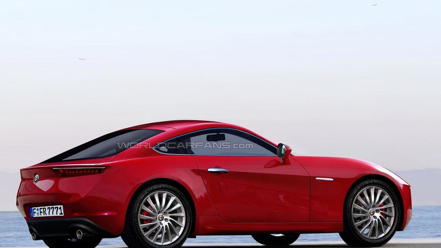 Alfa Romeo GTV brought back to life through digital design exercise