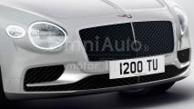Nuova Bentley Continental GT, il renderiing