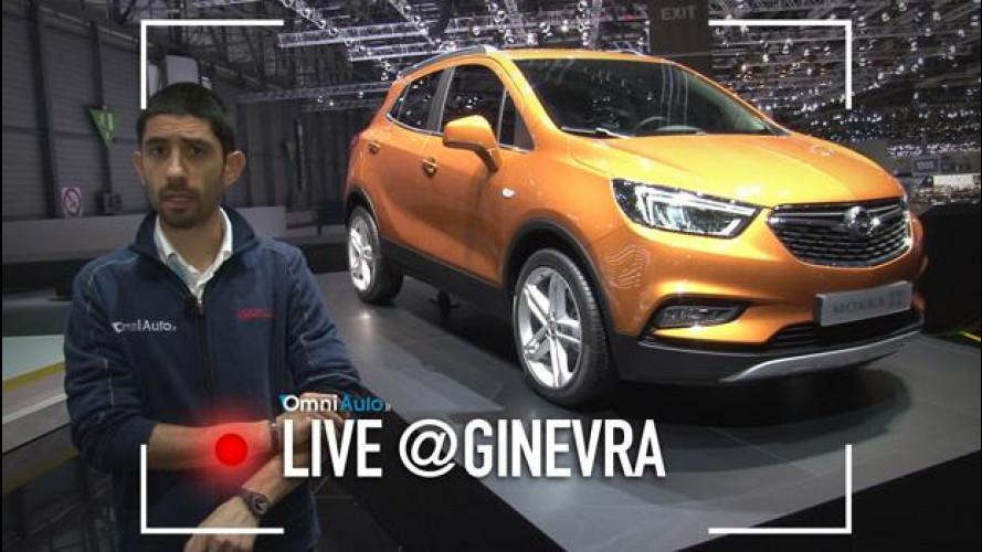 Opel Mokka, X è il suo nuovo stile [VIDEO]