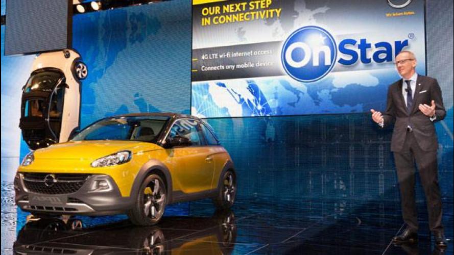 Opel: dal 2015 con connettività OnStar