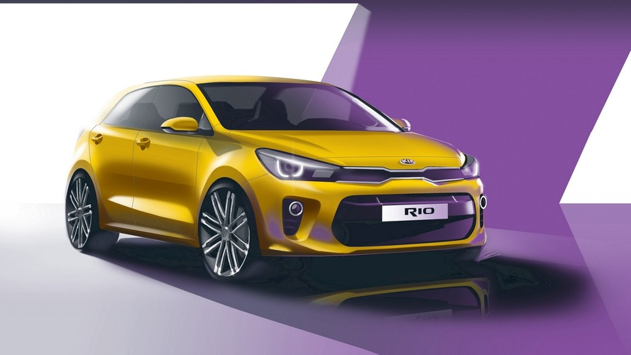 2017 Kia Rio teased ahead of September 29 reveal