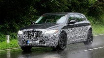Jaguar E-Pace test mule spy photos