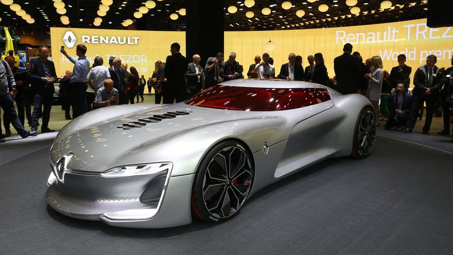 Renault Trezor 2016 yılının en iyi tasarımlı konsepti seçildi