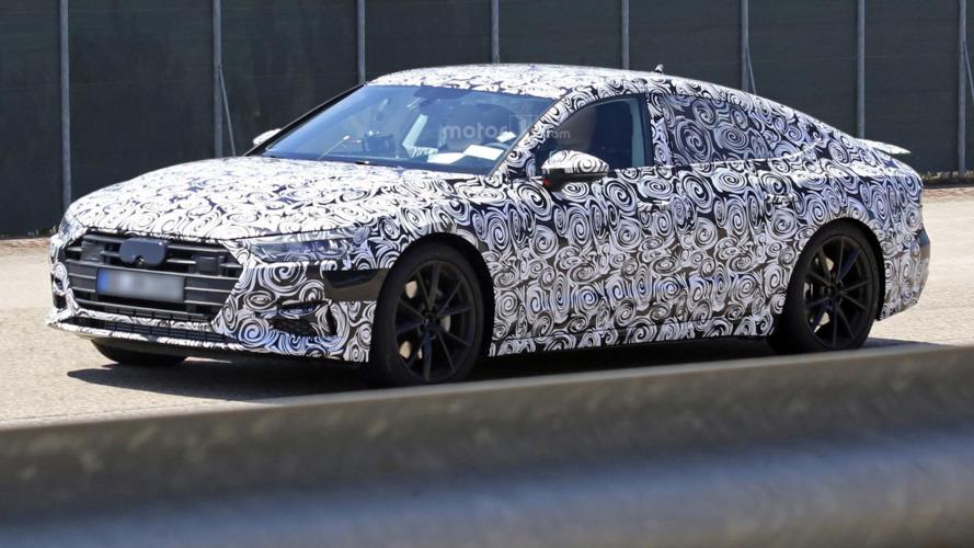 Prologue detaylarının saklandığı 2018 Audi A7 Sportback görüntülendi