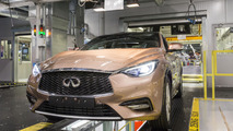 Infiniti Q30 production