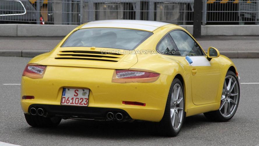 2012 Porsche 911 spied virtually undisguised