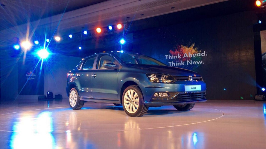 2016 VW Ameo breaks cover in India