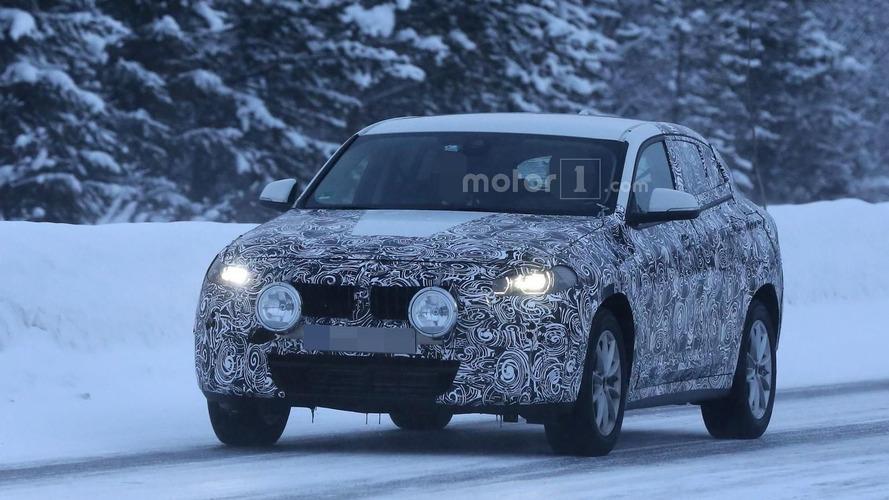 BMW X2 shows its sporty shape in latest spy photos