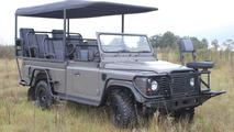Land Rover Defender Safari EV concept revealed