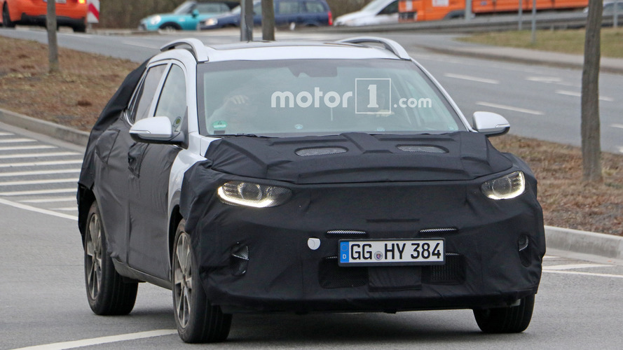 Kia Stonic Spy Photos