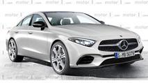 2018 Mercedes-Benz CLS rendering
