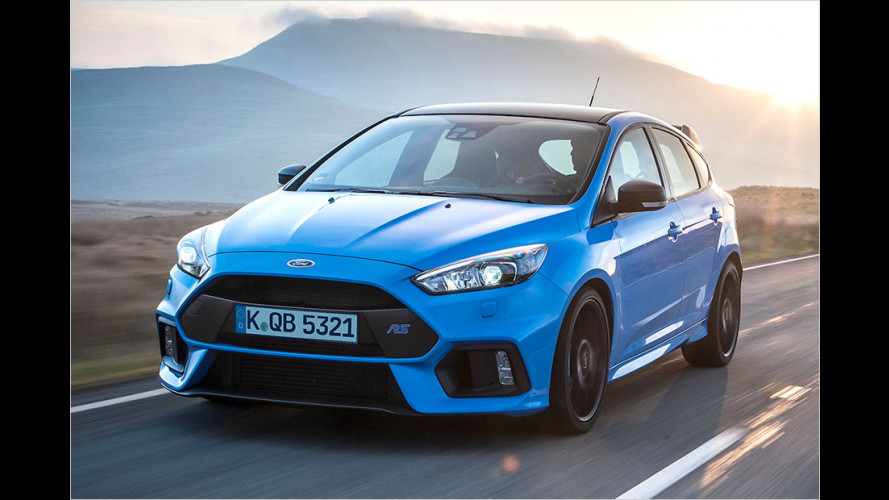 Das kann der neue Focus RS Blue&Black