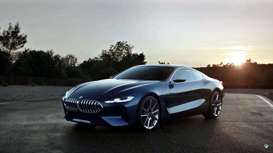 BMW 8 Serisi konseptinin reklam videosu