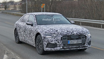 2019 Audi A6 spied for the first time