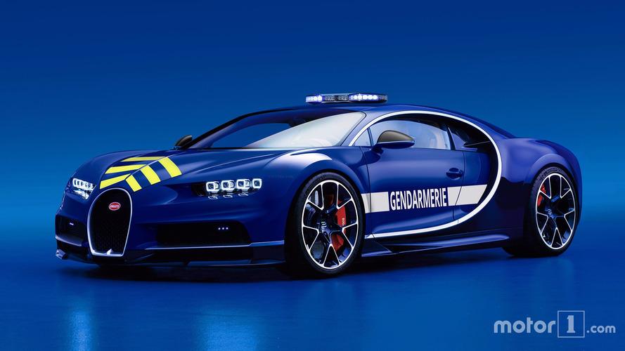 El Bugatti de la policía francesa que nos encantaría ver