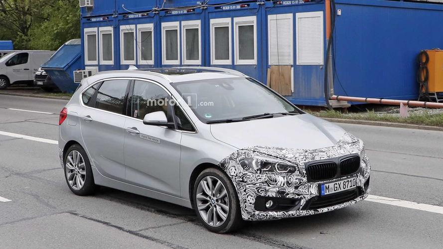 2018 BMW 2 Series Active Tourer facelift spy photos