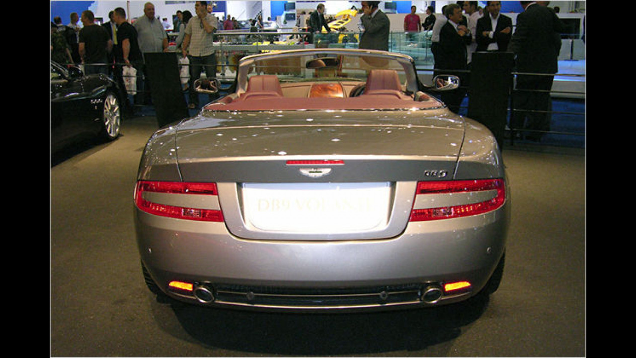 Aston Martin DB 9 Volante