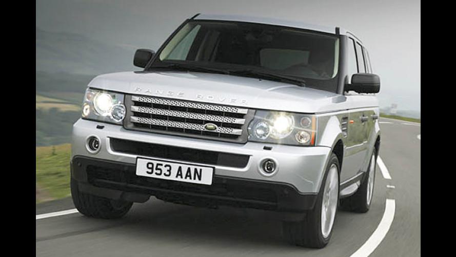 TDV8 steht jetzt auch dem Range Rover Sport zur Verfügung