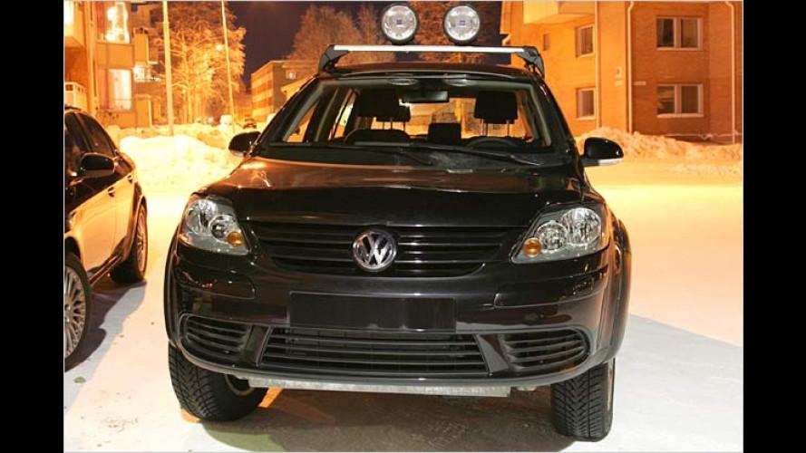 Erlkönig erwischt: Ist das der neue Gelände-Golf von VW?