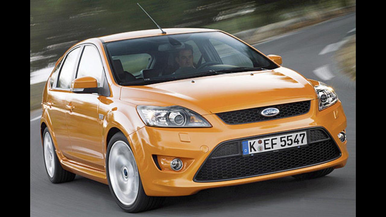Ford Focus ST: Neue Optik