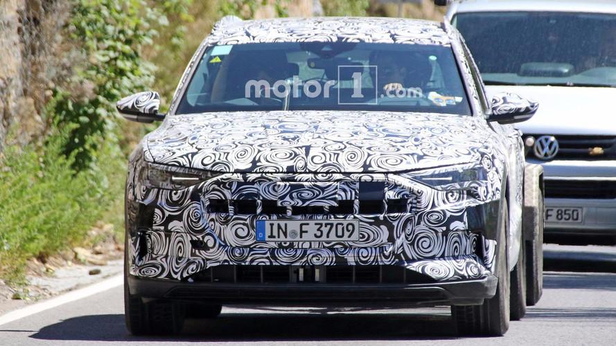 Audi E-Tron Quattro Spy Photos