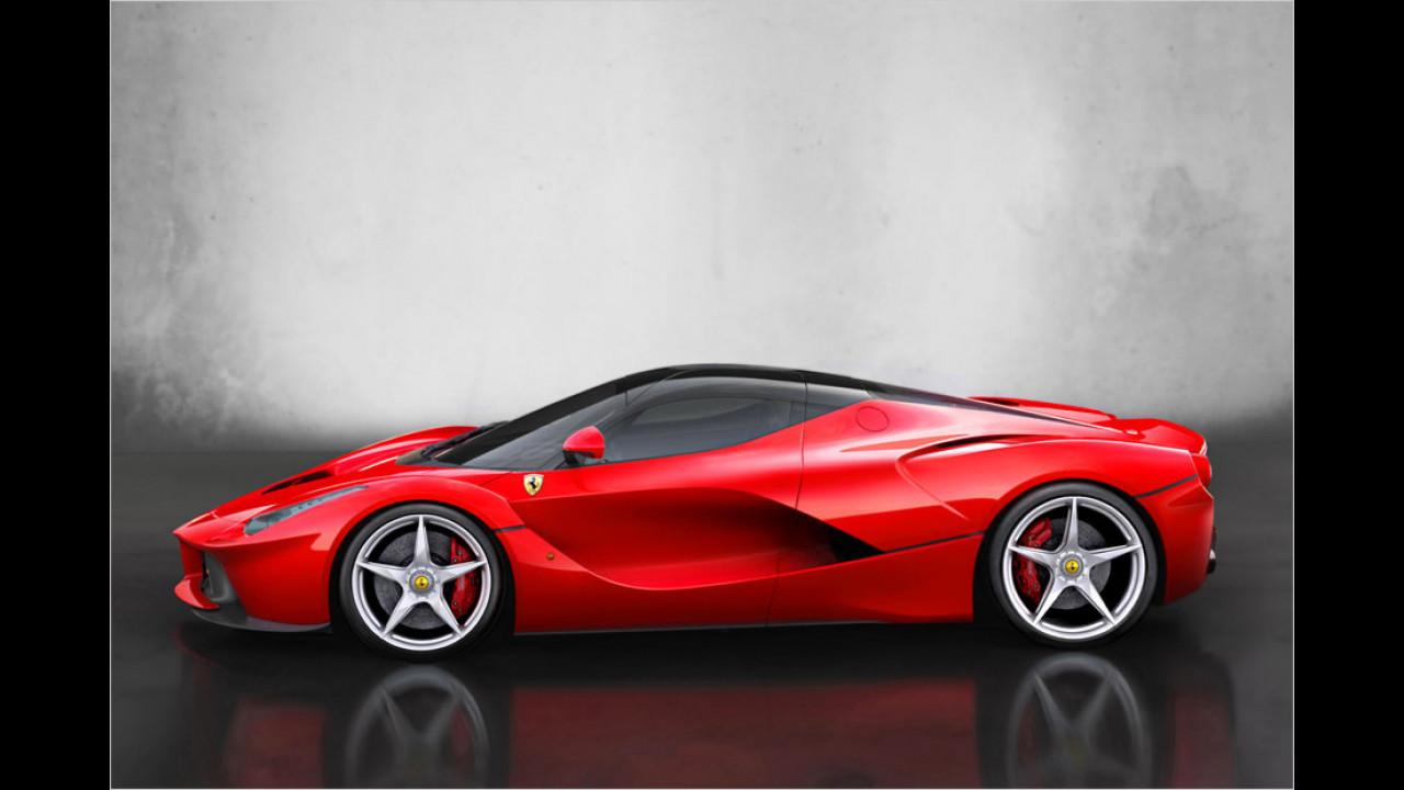 Platz 6: Ferrari LaFerrari, 1.116 Millimeter Höhe
