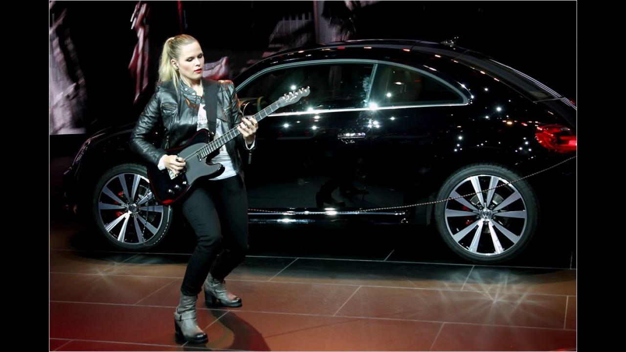 Das rockt: Das ist aber kein VW Rockton, sondern ein Beetle-Sondermodell namens Fender