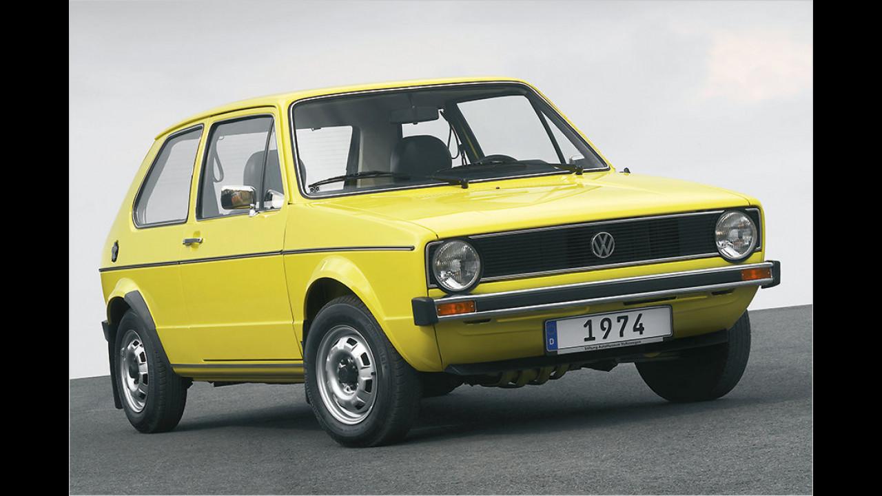 Platz 9: VW Golf, 4.519 Fahrzeuge mit H-Kennzeichen