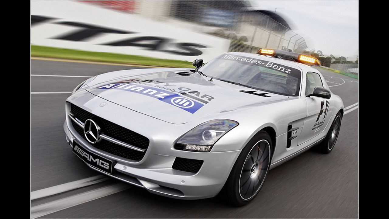 Formel 1 2013: Mercedes SLS AMG Black Series