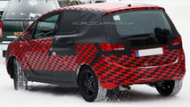 New Opel Meriva Spied with Less Camouflage