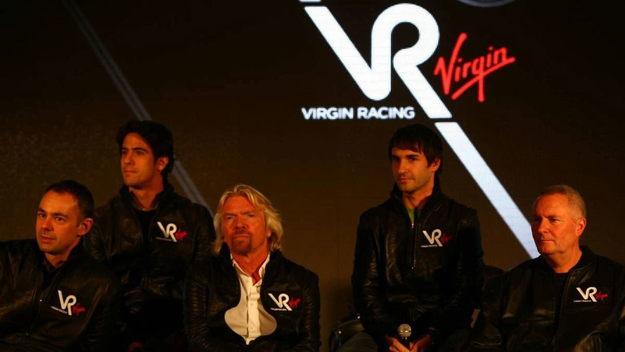 Virgin car to have black/red livery in 2010