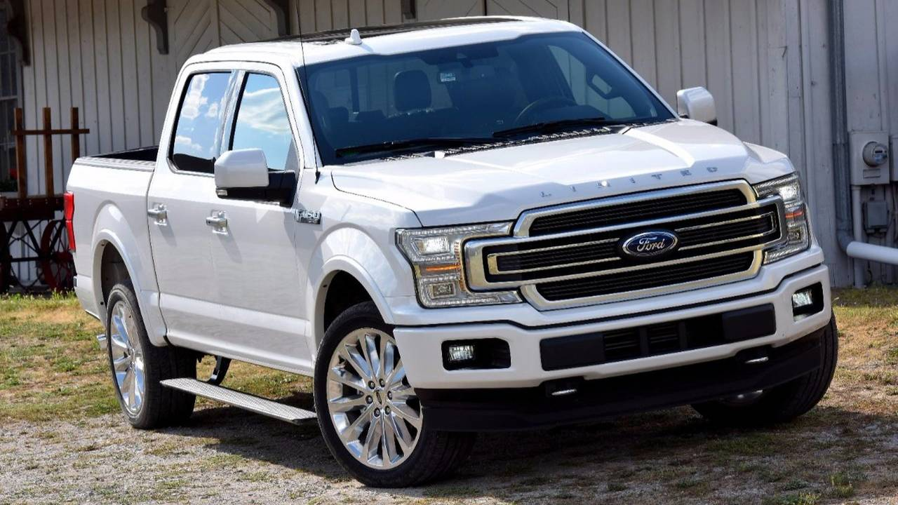 2. Ford F-150 Limited 4WD SuperCrew: $65,240-$70,565