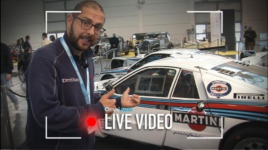 Verona Legend Cars, splendono le Lancia da corsa [VIDEO]