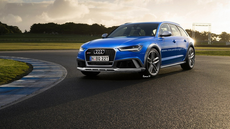 Audi RS6 allroad could look like this
