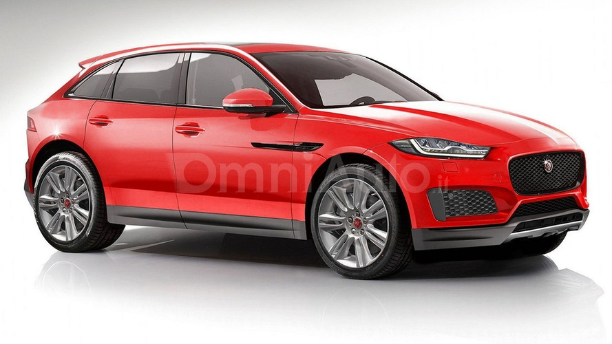 Jaguar E-Pace render shows plausible exterior design