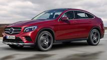 Mercedes-Benz GLC Coupe render