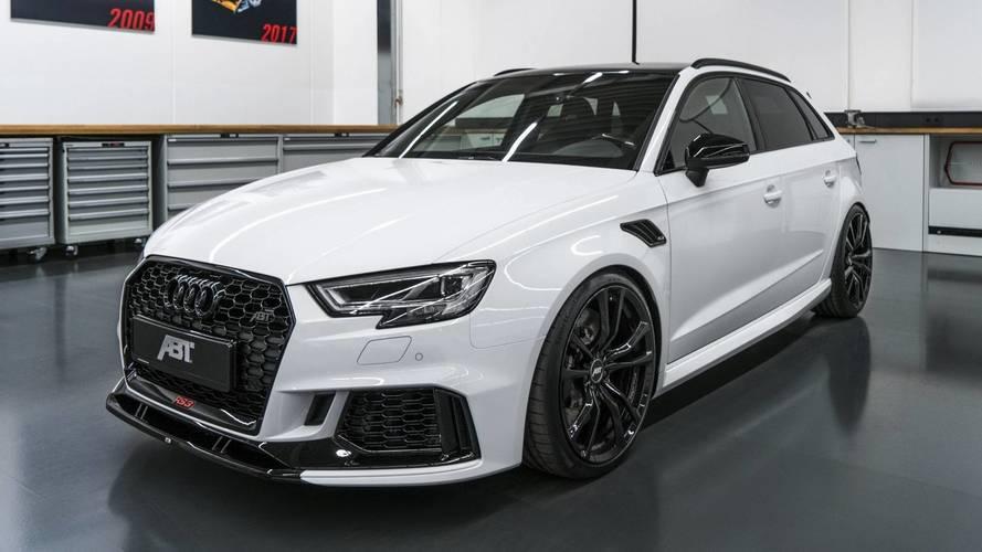 ABT pousse l'Audi RS 3 Sportback à 500 ch
