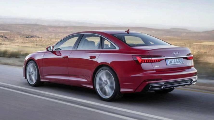 Novo Audi A6 - Imagens vazadas (não oficiais)
