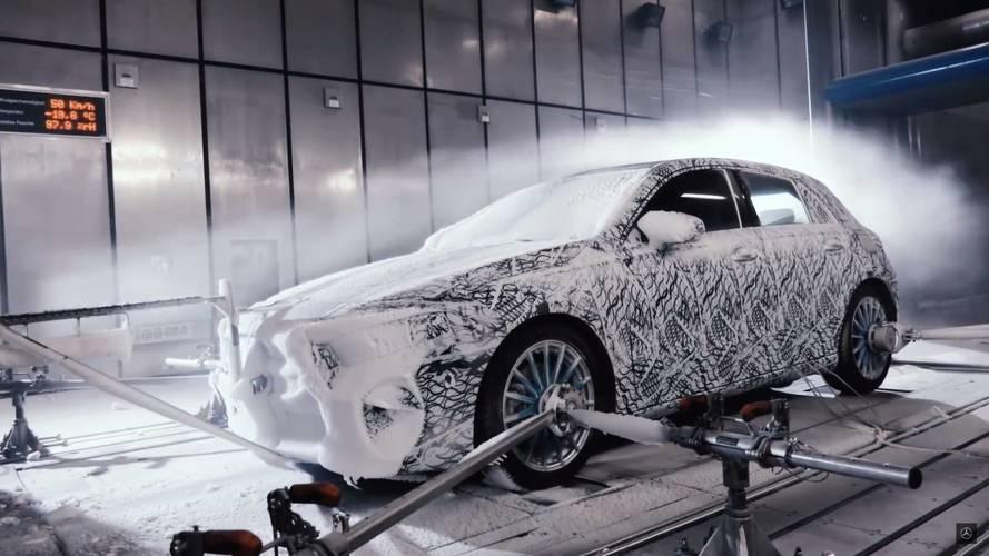 La nouvelle Mercedes Classe A subit des tests hivernaux extrêmes