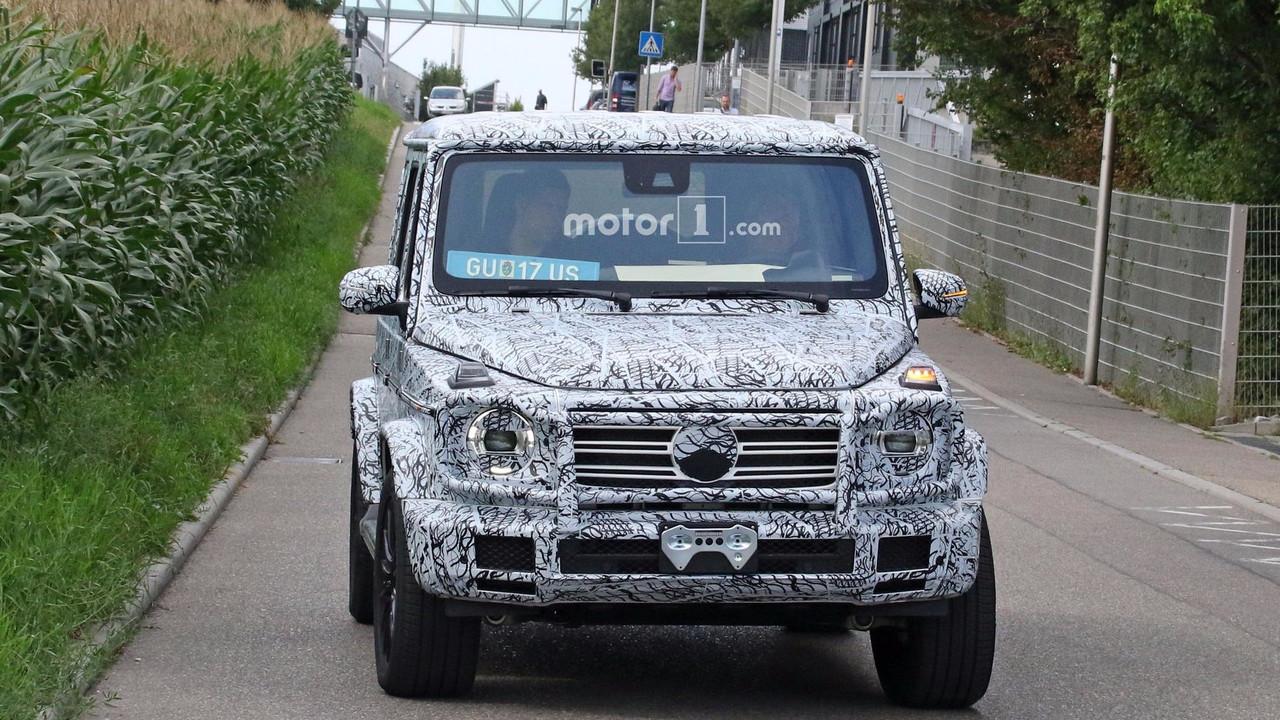 2019 mercedes g class spy photo photo for Mercedes benz bank login