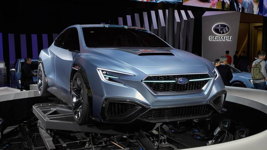 The following Subaru WRS STI can be a hybrid