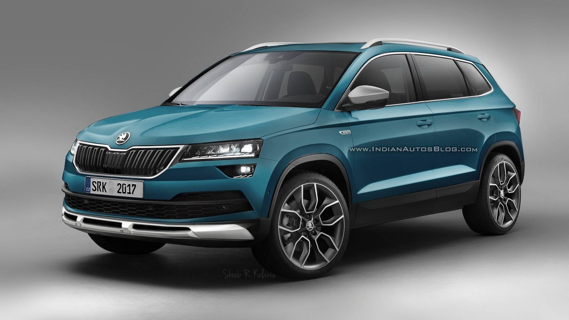 skoda karoq scout sportline renders are probably highly accurate. Black Bedroom Furniture Sets. Home Design Ideas